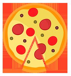 Pizza Broto – 25cm – 6 fatias