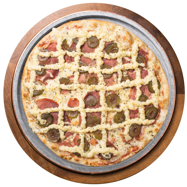 Pizzas de Presunto