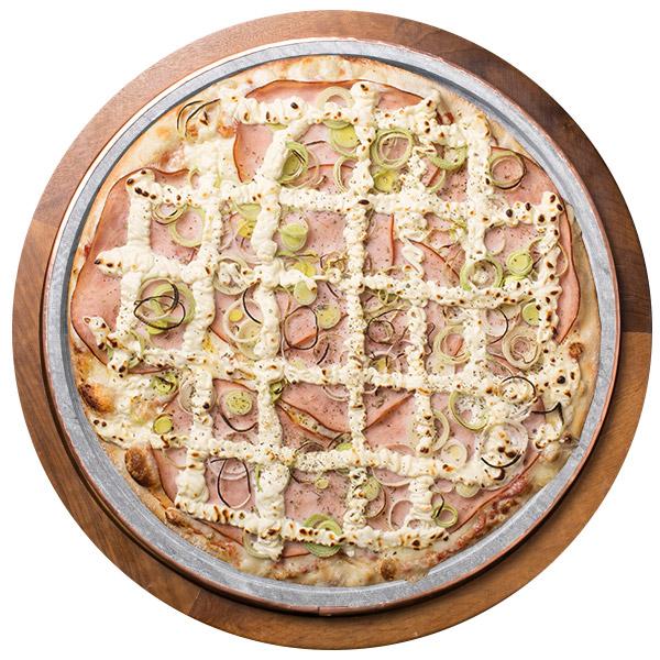 Pizza de ALHO PORÓ SEM GLÚTEN