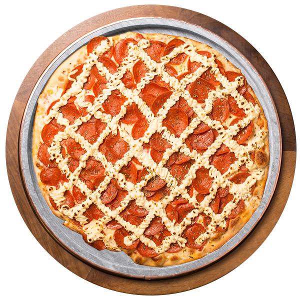 Pizza de CREAM PEPPERONI SEM GLÚTEN