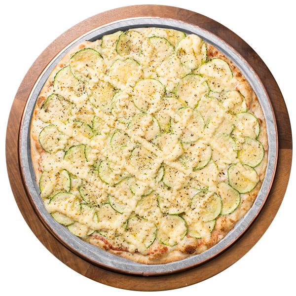 Pizza de ABOBRINHA SEM GLÚTEN