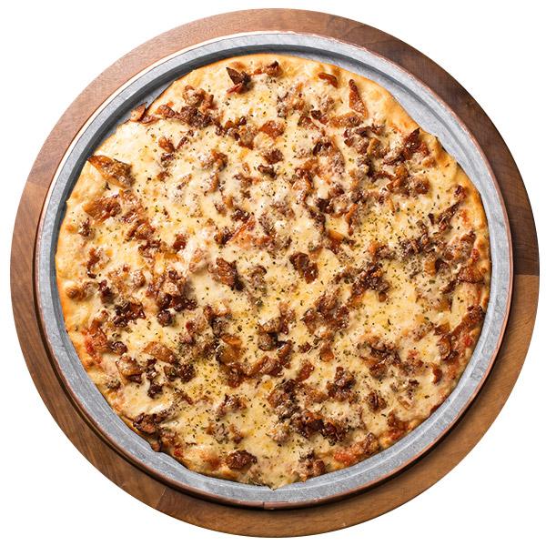 Pizza de BACON SEM GLÚTEN