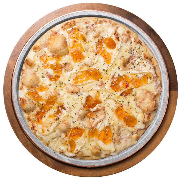 Pizza de BRIE COM GELEIA SEM GLÚTEN