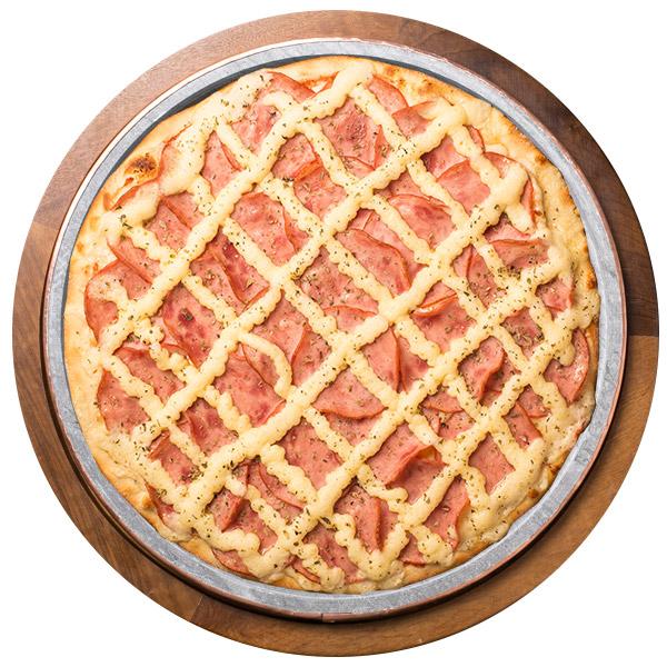 Pizza de LOMBO COM CATUPIRY SEM GLÚTEN