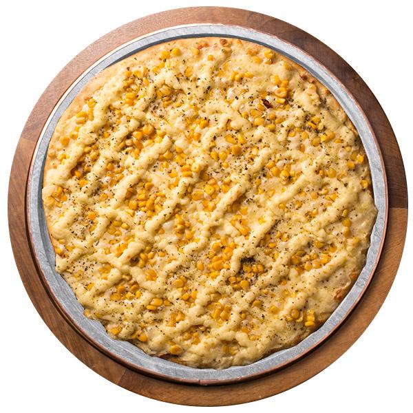 Pizza de MILHO COM CATUPIRY SEM GLÚTEN
