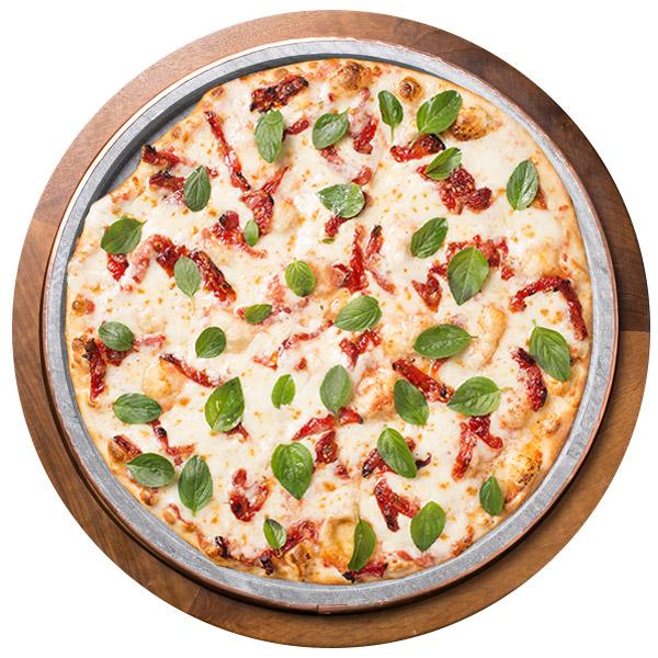 Pizza de MOZARELA DE BÚFALA  SEM GLÚTEN
