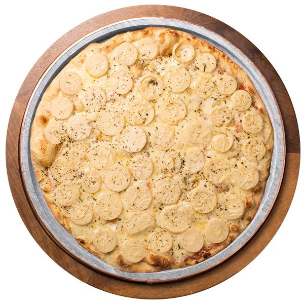 Pizza de PALMITO SEM GLÚTEN