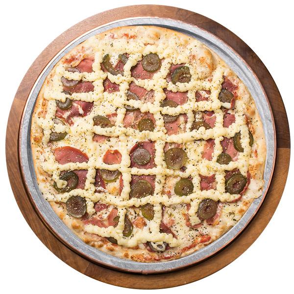 Pizza de PARMA COM FIGO SEM GLÚTEN