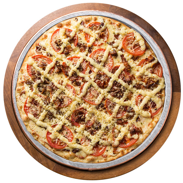 Pizza de PEPONE SEM GLÚTEN