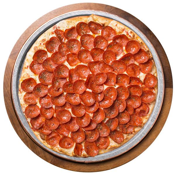 Pizza de PEPPERONI SEM GLÚTEN