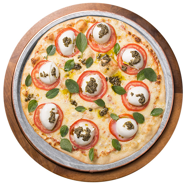 Pizza de PESTO SEM GLÚTEN
