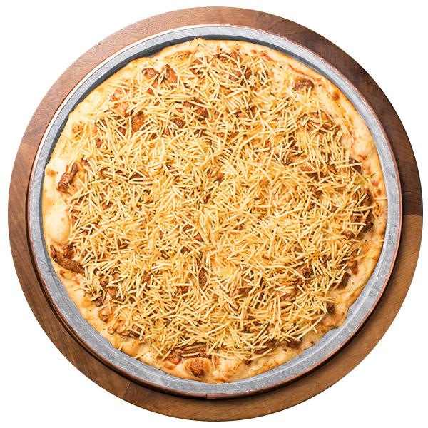 Pizza de STROGONOFF DE MIGNON SEM GLÚTEN