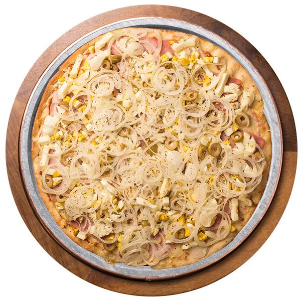 Pizza de PORTUGUESA SEM GLÚTEN