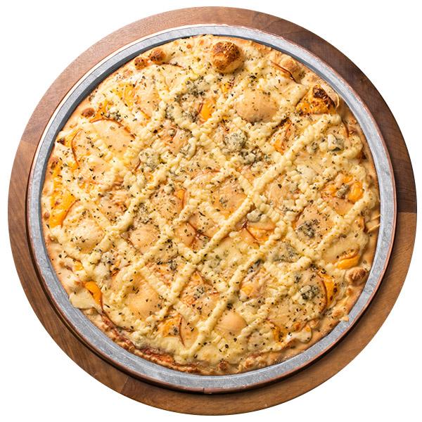 Pizza de SEIS QUEIJOS SEM GLÚTEN