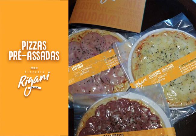 Blog Pizza pré-assada sem glúten em Curitiba? A Rigani tem!